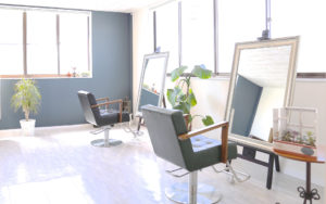 水戸市の美容室レガロの店舗写真